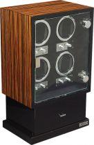 LDT-104EB Шкатулка для часов с автоподзаводом Linea del Tempo купить
