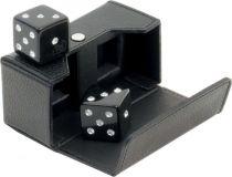 RR101 Кости игральные Swarovski Renzo Romagnoli (цвет: черный; кожа) купить
