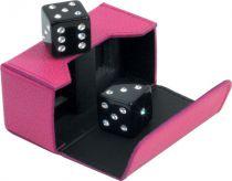 RR103 Кости игральные Swarovski Renzo Romagnoli (цвет: розовый; кожа) купить