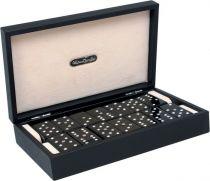 RR201 Домино в подарочной коробке Swarovski Renzo Romagnoli (цвет: черный; кожа) купить