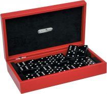 RR202 Домино в подарочной коробке Swarovski Renzo Romagnoli (цвет: красный; кожа) купить
