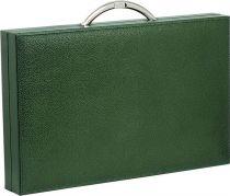 RR218 Нарды подарочные Renzo Romagnoli (цвет: зеленый; кожа) купить