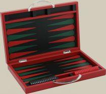 RR219 Нарды подарочные Renzo Romagnoli (цвет: красный; кожа) купить