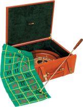 RR259 Набор подарочный для игры в рулетку Renzo Romagnoli (цвет: коричневый; кожа) купить
