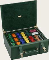 RR260 Набор подарочный для игры в рулетку Renzo Romagnoli (цвет: зеленый; кожа) купить