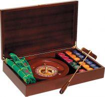 RR274 Набор подарочный для игры в рулетку Renzo Romagnoli (цвет: коричневый; дерево) купить