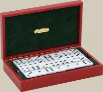 RR523 Домино в подарочной коробке Renzo Romagnoli (цвет: черный; кожа) купить