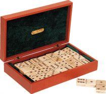 RR524 Домино в подарочной коробке Renzo Romagnoli (цвет: коричневый; кожа) купить