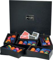 RR610 Набор для игры в покер Renzo Romagnoli (цвет: черный; дерево) купить