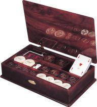 RR911 Набор для игры в покер Renzo Romagnoli (цвет: коричневый; полимер) купить