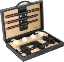 RR 113 Набор для игры в гольф Renzo Romagnoli (цвет: черный; кожа с тиснением под страус) купить