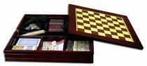 Игральный набор ,7 видов игр. (розовое дер.) [TK100A-R] купить