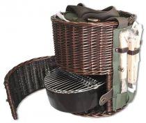 Набор для пикника (корзина + 5 приборов) [20A-1104] купить