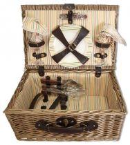 Набор для пикника на 2 персоны (корзина + 10 приборов) [1-3631] купить