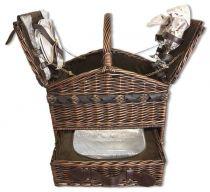 Набор для пикника на 2 персоны (корзина + 11 приборов) [1-3647] купить