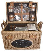 Набор для пикника на 4 персоны (корзина + 21 прибор) [1-3662] купить