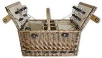 Набор для пикника на 4 персоны (корзина + 23 прибора) [1-3697] купить