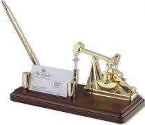 Визитница с нефтяной вышкой [W1052PH] купить