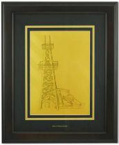 Картина Нефтяная вышка [HB-242] купить