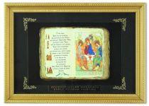 Православное панно Троица мал. багет [ПР-03-М] купить