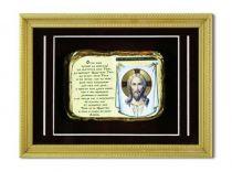 Православное панно Иисус мал. багет [ПР-04/6-б] купить