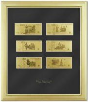 Картина с банкнотами (Россия) [HB-147-G] купить