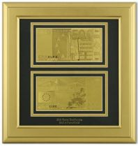Картина с банкнотами (Евро) [HB-092-G] купить