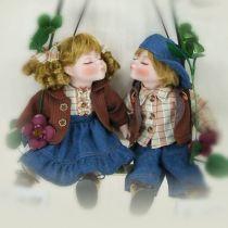 Куклы фарфоровые парные [YF-14169-170] купить