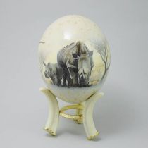 Страусиное яйцо [NE-012] купить