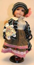 Кукла фарфоровая [WL-B-16189] купить