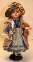 Кукла фарфоровая [WL-B-16192] купить