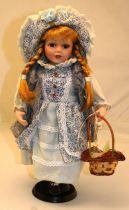 Кукла фарфоровая [WL-V-1667] купить