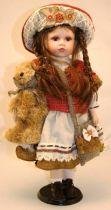 Кукла фарфоровая [WL-B-2087] купить