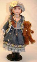 Кукла фарфоровая [WL-B-2089] купить