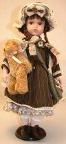 Кукла фарфоровая [WL-B-2091] купить