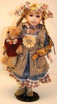 Кукла фарфоровая [WL-B-2092] купить