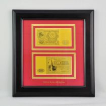 Картина с банкнотой 100 руб. [HB-793] купить