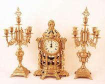"""Часы, 2 канделябра, стиль """"Свобода"""" [422/1181] купить"""