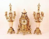 """Часы, 2 канделябра, стиль """"Марко Альберти"""" [421M/449M] купить"""