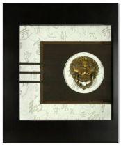 """Картина """"Львы охраняющие дом"""" [XMS-2255A] купить"""