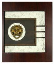 """Картина """"Львы охраняющие дом"""" [2255B (Xiamen)] купить"""