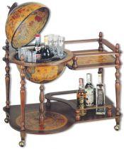 Глобус-бар со столиком напольный [TE-CAR-42-98] купить