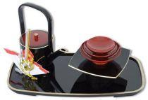 Набор для саке и два подноса [58-1-YK] купить