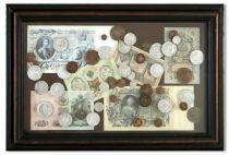 """Картина """"Монеты"""" [SAN003] купить"""