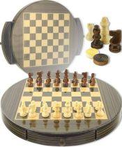 """Игральный набор """"Джентльменская игра"""" (шахматы) блестящий [CS71] купить"""