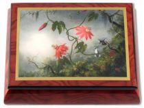 """Музыкальная шкатулка """"Колибри и цветы"""" [MBO822] купить"""