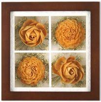 Цветок в рамке [SF-F8X8NAT168B] купить