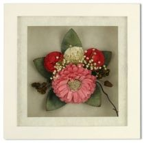 Цветок в рамке [SF-F8X8NAT549] купить