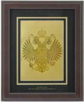 Картина с гербом РФ [HB-040] купить