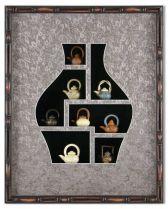 """Картина """"Нефритовые чайники"""" [XMS-121] от Olives, Art. mp_9402 Olives"""